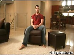 Nick Torretto Busting His Amazing College Dick Hard And Shoots His Load All Over 1 By CollegeMeat