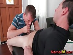 Hunky Married Straight Dude Gets His Fine Anus Fucked 2 MarriedBF