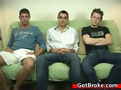 Blake, Damien & Jeremy Gay Threesome Gay Porn 3 By GotBroke