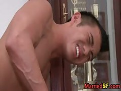 Hot Married Straight Guy Rimming And Sucking Gay Cock 4 MarriedBF