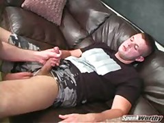 Sucking Beefy Brady'S Cock