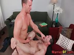 Hunky Married Straight Dude Gets His Fine Anus Fucked 6 MarriedBF