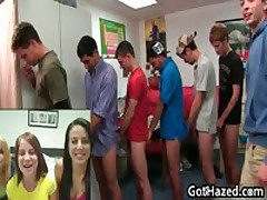 Fresh Straight College Guys Get Gay Hazing 9 By GotHazed