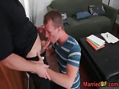 Hunky Married Straight Dude Gets His Fine Anus Fucked 1 MarriedBF