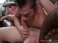 Hot Married Straight Guy Rimming And Sucking Gay Cock 2 MarriedBF