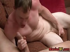 Hot Married Straight Stud Riding Gay Cock 4 MarriedBF