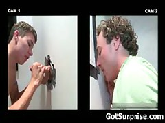 Straight Guy Sticks His Jizzster In A Hole And Gets Blowjob By Gay 2 By GotSurprise