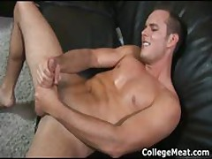 Devin Adams Wacking Off His Amazing College Dick 4 By CollegeMeat