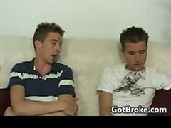 Aiden & Sean Having Gay Sex On The Sofa 2 By GotBroke