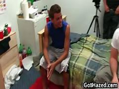 Fresh Straight College Teens Get Gay Hazing 4 By GotHazed