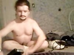Stripping And Jacking Off