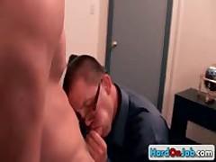 Brenn Luke Suck And Fuck Gay Penis Three By HardOnJob
