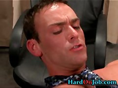 Hunky Homo Buddy Gets Sucked At Office 5 By HardOnJob