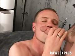 Ball Licking Blowjob