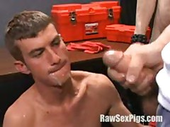 Hot Cum Eating In Orgy