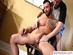 Pierced Beefcake Getting Blow Job By Gotmasked
