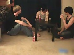 Three Amazing Pretty Twinks Having A Games Night 1 By YummyTwinks