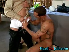 Super Muscle Sexy Stud Getting Fucked In The Pooper 2 By HardOnJob