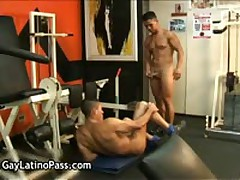 Arnold And Luke Hispanic Homosexual Screw And Blow Job Penis 1 By GayLatinoPass