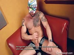 Muscle Sexy Hunk Pumping His Super Erection 2 By GotMasked