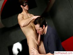 Masked Sexy Hunk Pulling His Crazy Firm Boner By Gotmasked