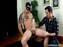 Sexy Sexy Hunk Getting His Fine Erection Sucked Off Four By GotMasked