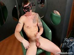 Masked Hunk Pulling His Hot Uncut Sausage Three By GotMasked