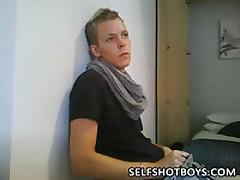 Fashion Boy Jerking On Webcam