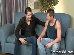 Two Muscled Studs Fucking And Jerking On A Sofa 1 By SBF