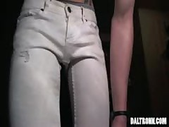 Skinny Jeans Monster Cock