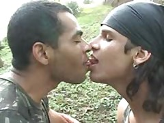 Latino Soldiers Bareback