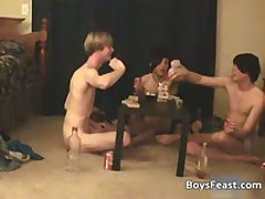 Super Exciting Homo Teenagers Having A Game Party 5 By BoysFeast