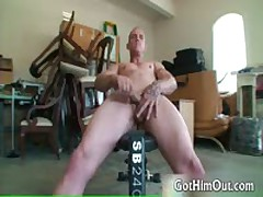 Secret Weight Lifting Fag Free Free Gay Porno 2 By GotHimOut