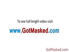 Amazing Masked Hunk Jerking Off Cock 4 By GotMasked