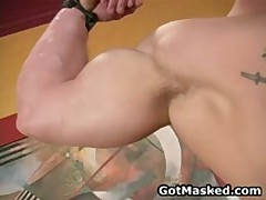Amazing Good Looking Gay Hunk Masturbating 1 By GotMasked