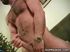Amazing Good Looking Gay Hunk Masturbating 7 By GotMasked