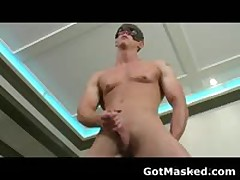 Amazing Gay Stud Stripping And Masturbating Cock 8 By GotMasked