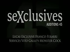 Gay Porn Star Michael Lucas Fucks Latin Bottom Franco Ferarri