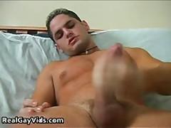 Julian Pulling His Crazy Firm Gay Boner 2 By RealGayVids