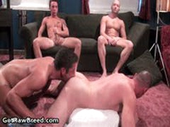 Drake Hanson, Tyler Reed, Rick Richards, Jacob White And Zac Zaven Assfucking 1 By GetRawBreed