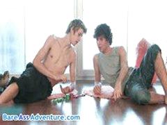 Hot Twinks Julian Tomlinson And Thomas Fiaty Gay Fucking 1 By BareassAdventure
