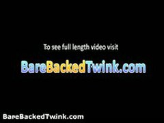 Nathan Jerking And Gets Anus Fuck 1 By Barebackedtwink