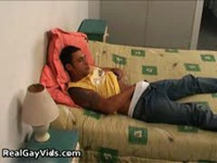Franky Jerking His Nice Firm Gay Penis 1 By RealGayVids