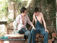 Luke Taylor And Marty Marshall In Gay Fucking And Cock Sucking 2 By Bareassadventure