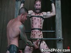 Nick Noman Plastic Wrapped And Gets His Hard Cock Jerked 7 By BoundPride