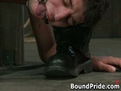 Gay Slaves Get Electro Therapy From Their Masters 5 By BoundPride