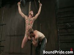 Christian Trent Gets His Tortured Ass Fcuked 7 By BoundPride