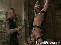 Nick Gets Whipped By His Master 4 By BoundPride