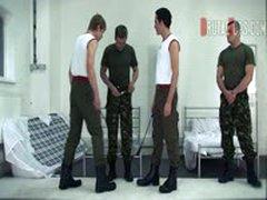 Ferocious Army Exercise Beasting