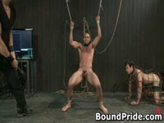 Gay Slave Gets Caged And Anal Electro Shocked 5 By BoundPride